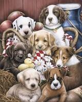 Puppy Pals Fine-Art Print