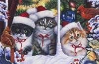 Cats In Window Fine-Art Print