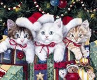 Meowy Christmas Fine-Art Print