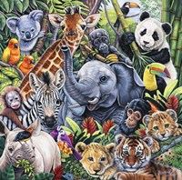 Jungle Babies Fine-Art Print