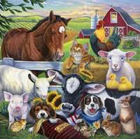 Farm Friends Fine-Art Print