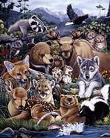 Forest Friends Fine-Art Print