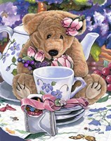 Tea Party Bear 1 Fine-Art Print