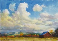 Lonesome Barn Fine-Art Print