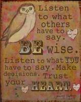 Be Wise Fine-Art Print