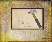 H is For Hammer Fine-Art Print