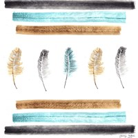 Feathers Aligned Fine-Art Print