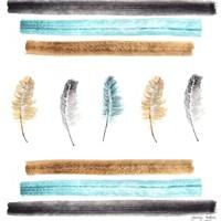 Feathers Aligned Fine-Art Print