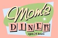 Moms Diner Retro Pink Fine-Art Print