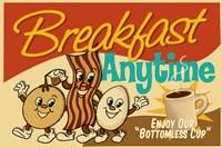 Breakfast Anytime Fine-Art Print