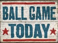Ball Game Today Fine-Art Print