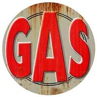 Gas Distressed Fine-Art Print
