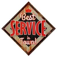 Best Service Diamond Fine-Art Print