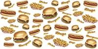 Burgers Fries Dogs Fine-Art Print