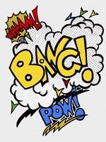 Wham Bang Pow Combo Cut Out Fine-Art Print