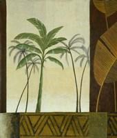 Green Palms II Fine-Art Print