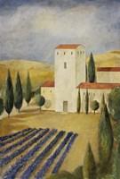 Tuscan Villa I Fine-Art Print