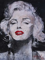 M Monroe Photo 17 Fine-Art Print