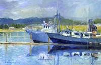 Fishing Boats On Oregon Coast Fine-Art Print
