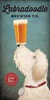 Doodle Beer Double Fine-Art Print