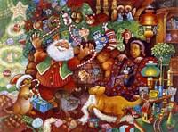 Santa Rejoicing Fine-Art Print
