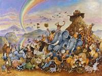 Noah Rejoicing Fine-Art Print