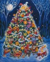 Christmas Cats Fine-Art Print
