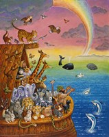 Noah & The Rainbow Fine-Art Print