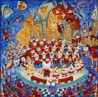 Holy Cats Meow-A- Lujah Chorus Fine-Art Print