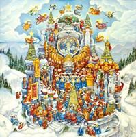 Holy Cats Do Christmas Fine-Art Print