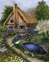 Best Old Cottage Fine-Art Print