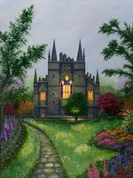 Church Garden Fine-Art Print