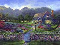 Garden Gate Fine-Art Print