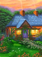 Rose Cottage Fine-Art Print