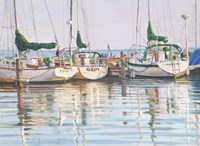 Yacht Club Fine-Art Print