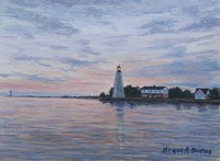 Old Saybrook Light Fine-Art Print