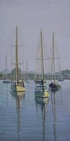 Stonington Sail Boats Fine-Art Print