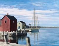Sail Boat Rockport Fine-Art Print