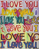 I Love You Fine-Art Print