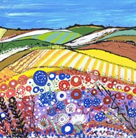 Wheatfields In Scotland Fine-Art Print