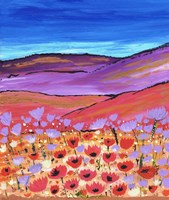Poppy Fields Fine-Art Print