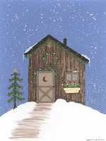 Brown Outhouse Fine-Art Print