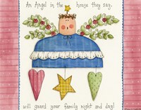 An Angel In The House Fine-Art Print