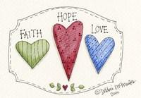 Three Hearts Fine-Art Print