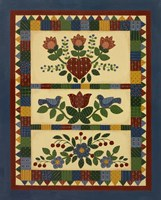 Flower Quilt 2 Fine-Art Print