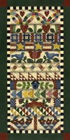 Stack Of Quilts With Dark Green Border 1 Fine-Art Print