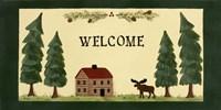 Welcome - Cabin Fine-Art Print