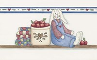 Apple Bunny 2 Fine-Art Print