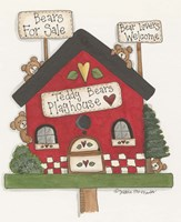 Teddy Bears Playhouse Fine-Art Print