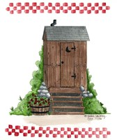 Wooden Outhouse Fine-Art Print